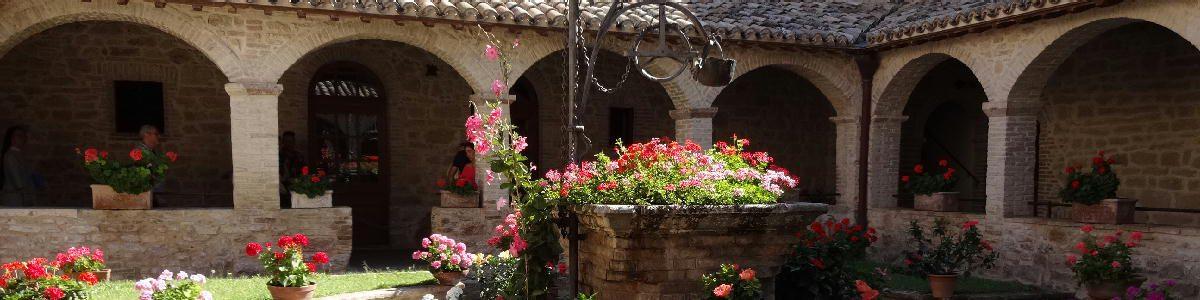 サン・ダミアーノ修道院(イタリア・アッシジ)