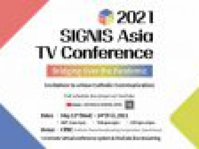 SIGNIS Asia TV Desk Virtual Conference  2021/5/12-14